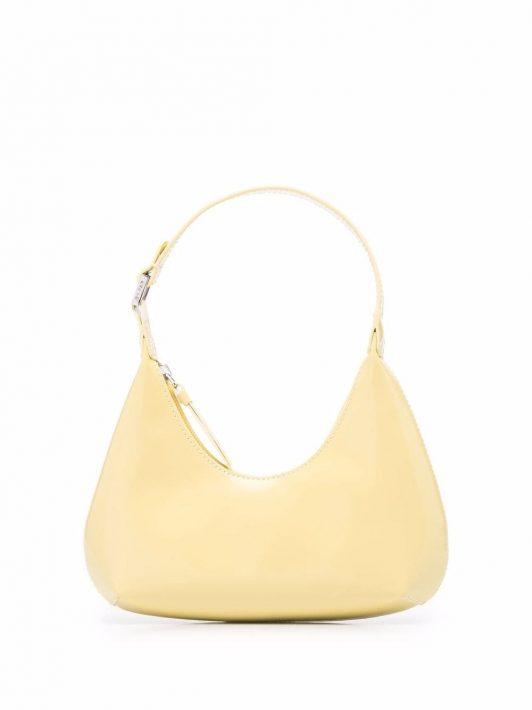 BY FAR Handtasche aus Leder - Gelb