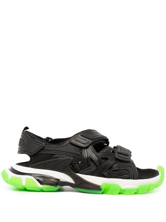 Balenciaga Track touch-strap sandals - Schwarz