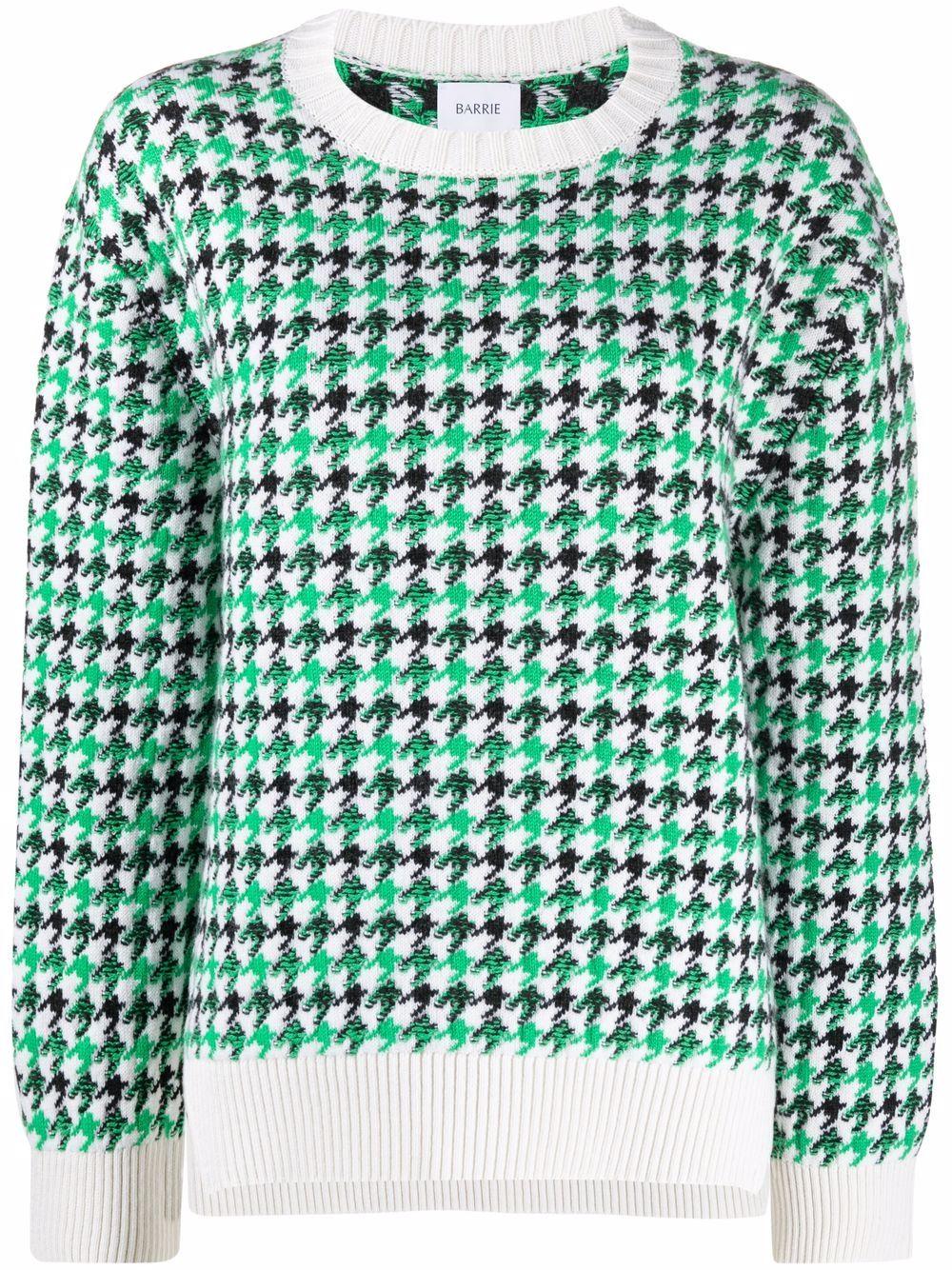 Barrie Pullover mit Print - Grün