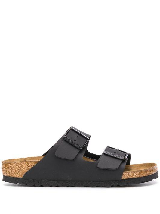 Birkenstock Sandalen mit Schnallen - Schwarz