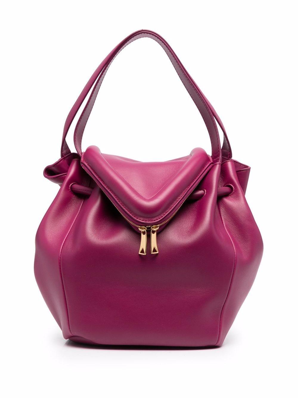 Bottega Veneta Beak Handtasche - Rosa