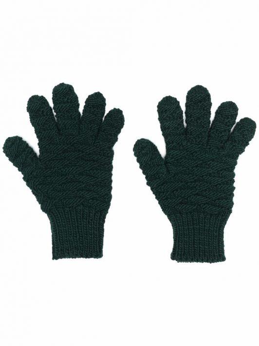 Bottega Veneta Klassische Handschuhe - Grün