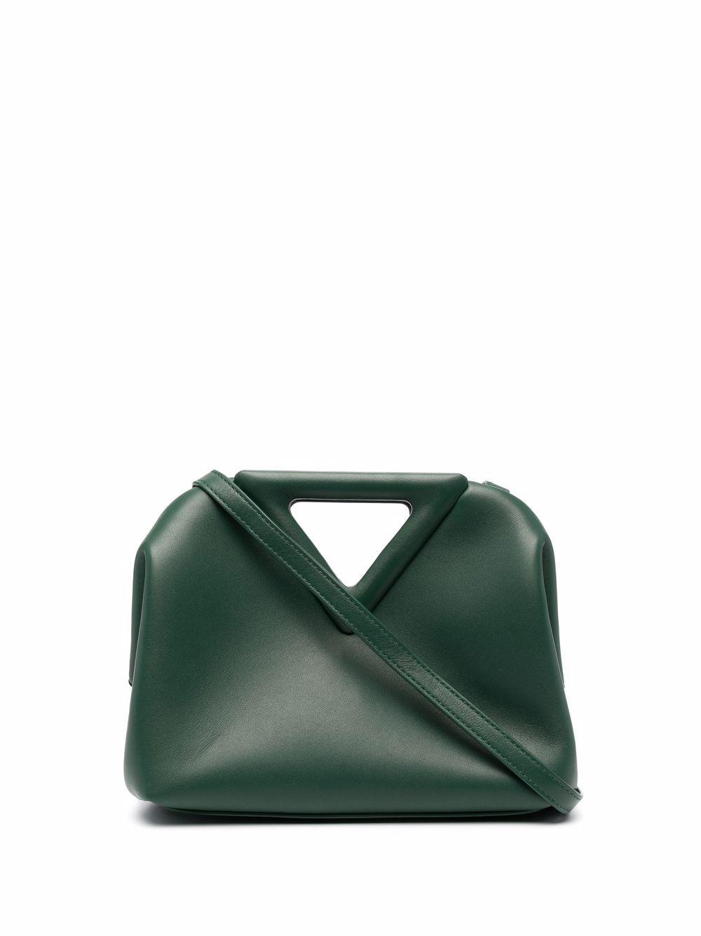 Bottega Veneta Point Handtasche mit dreieckigen Henkeln - Grün