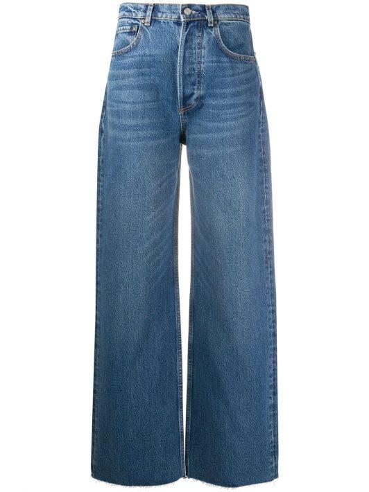 Boyish Jeans Jeans mit weitem Bein - Blau