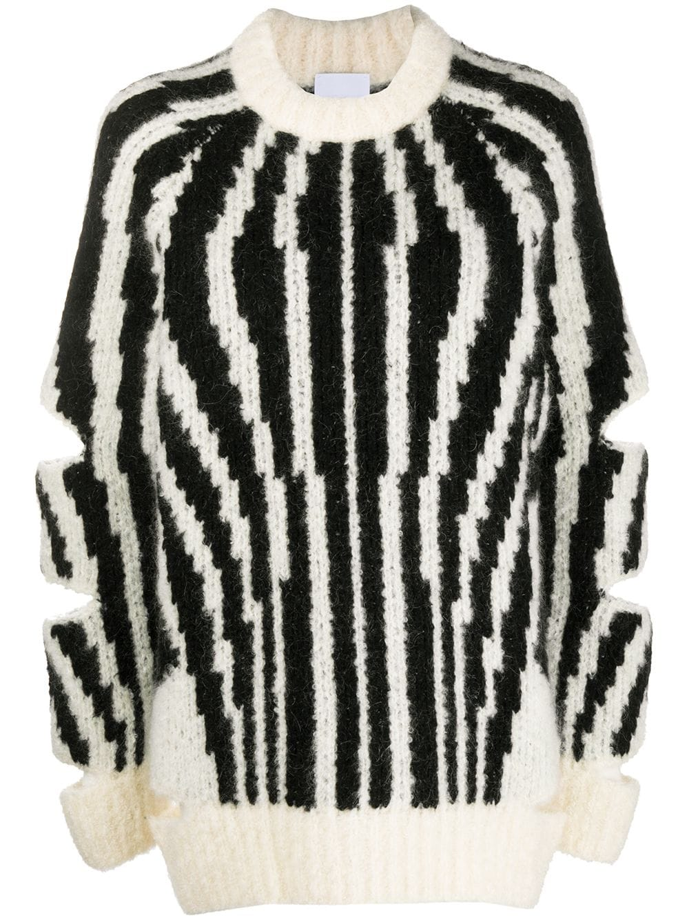 Burberry Pullover mit Cut-Outs - Schwarz