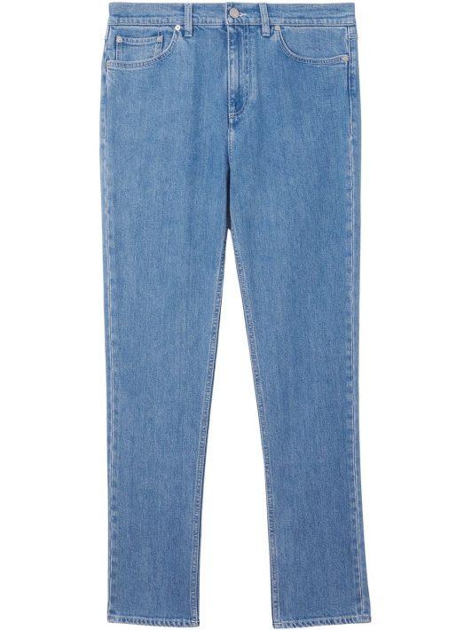 Burberry Schmale Jeans - Blau