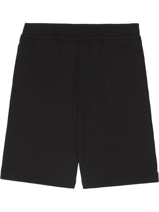 Burberry coordinates print track shorts - Schwarz