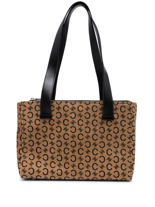 Céline Pre-Owned Pre-owned Shopper mit C Macadam-Muster - Braun