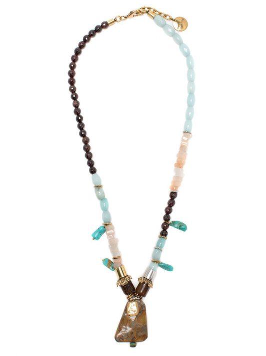 Camila Klein Verzierte Liora Halskette - Mehrfarbig