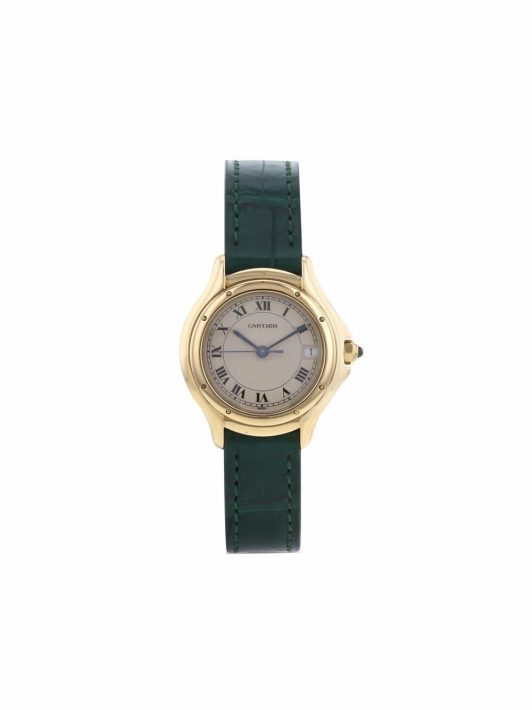 Cartier 1990s pre-owned Cougar 27mm - Nude