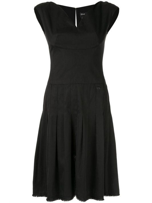 Chanel Pre-Owned Ärmelloses Kleid - Schwarz