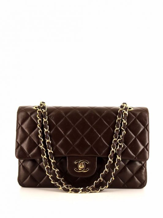 Chanel Pre-Owned 1991 Timeless Schultertasche - Braun