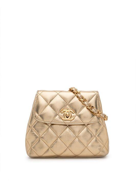 Chanel Pre-Owned 1997 Gürteltasche - Gold