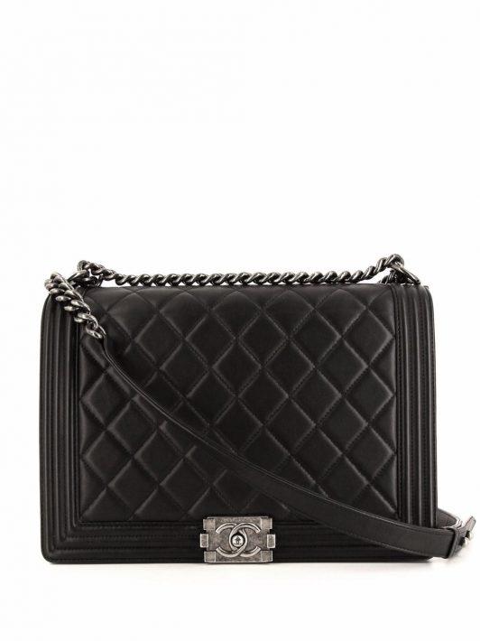 Chanel Pre-Owned 2014 Boy Schultertasche - Schwarz