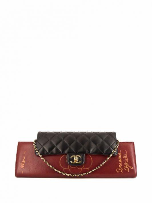 Chanel Pre-Owned 2016 Brasserie Gabrielle Schultertasche - Schwarz