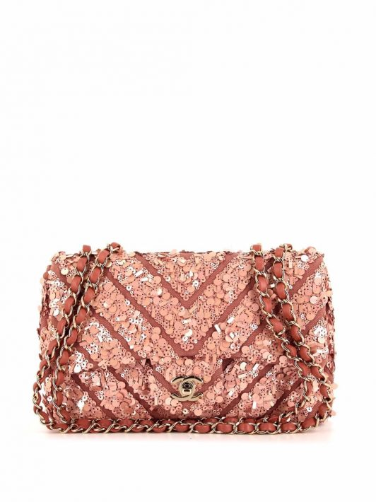 Chanel Pre-Owned 2019 Timeless Schultertasche - Rosa