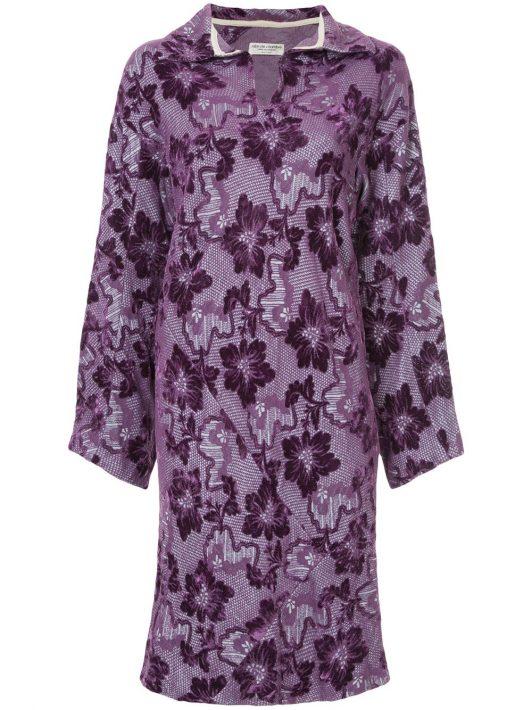 Comme Des Garçons Pre-Owned Kleid mit Jacquardmusterung - Rosa