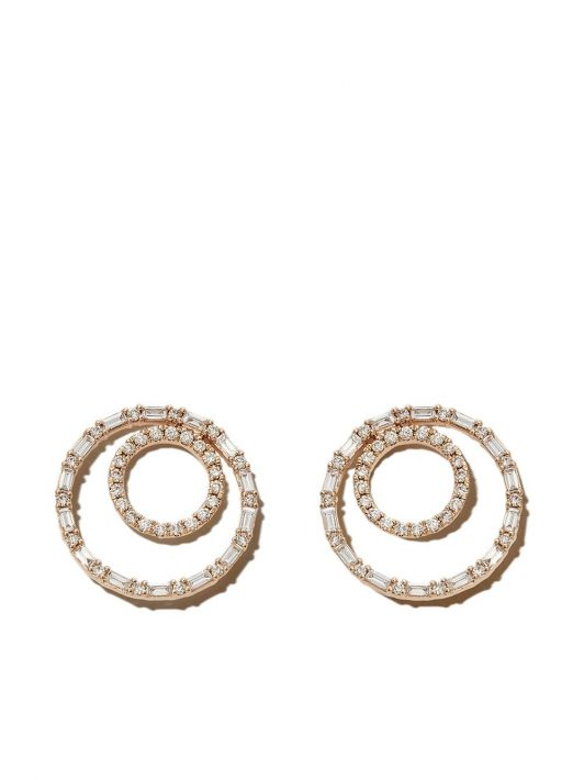 Dana Rebecca Designs 14kt yellow gold Sadie double loop earrings