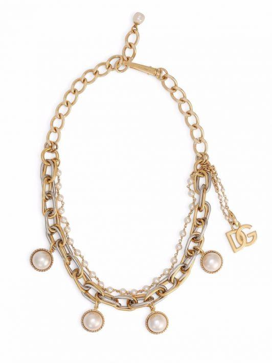 Dolce & Gabbana Mehrsträngige Halskette - Gold