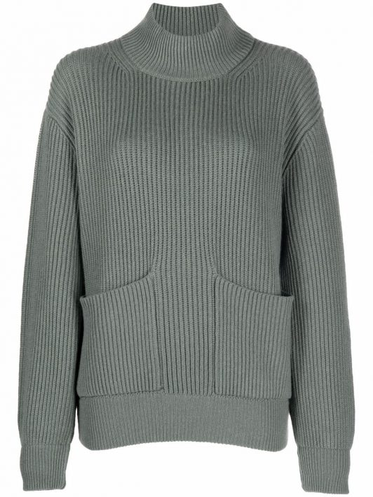 Fedeli long-sleeve jumper - Grün