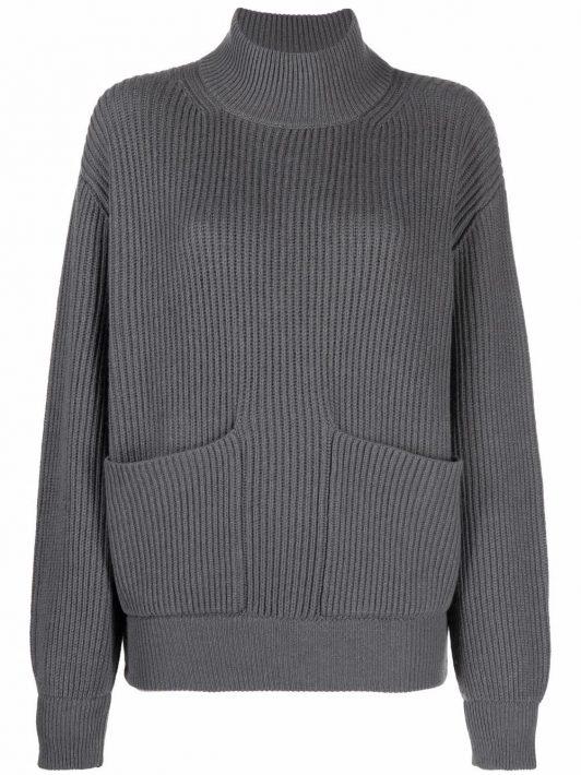 Fedeli rib knit jumper - Grau