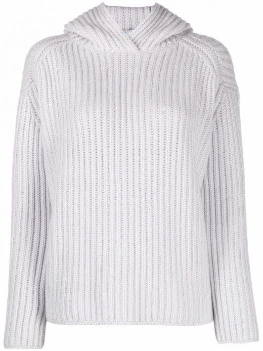 Fedeli rib-knit long-sleeve jumper - Grau