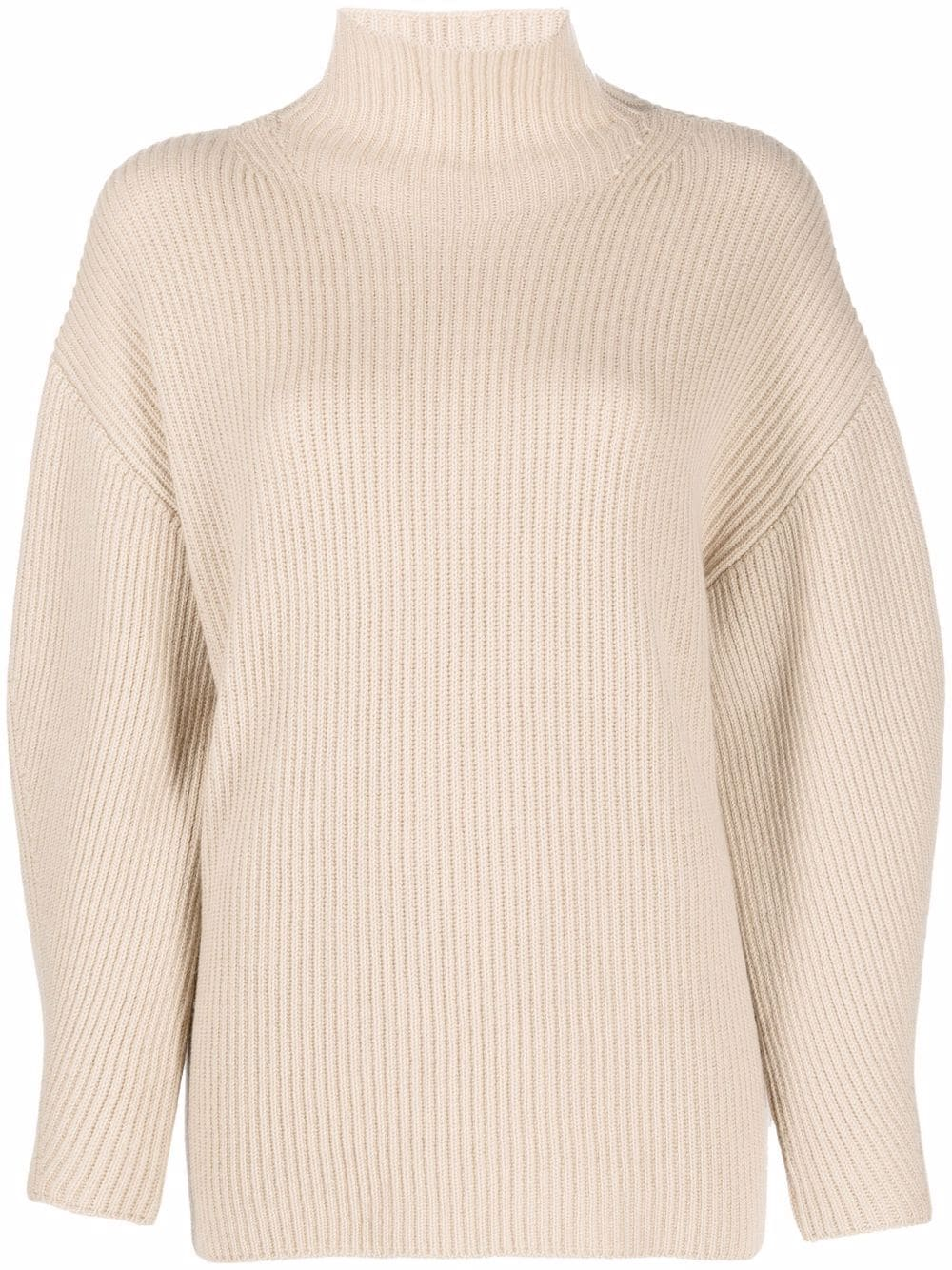 Fedeli roll-neck cashmere jumper - Nude