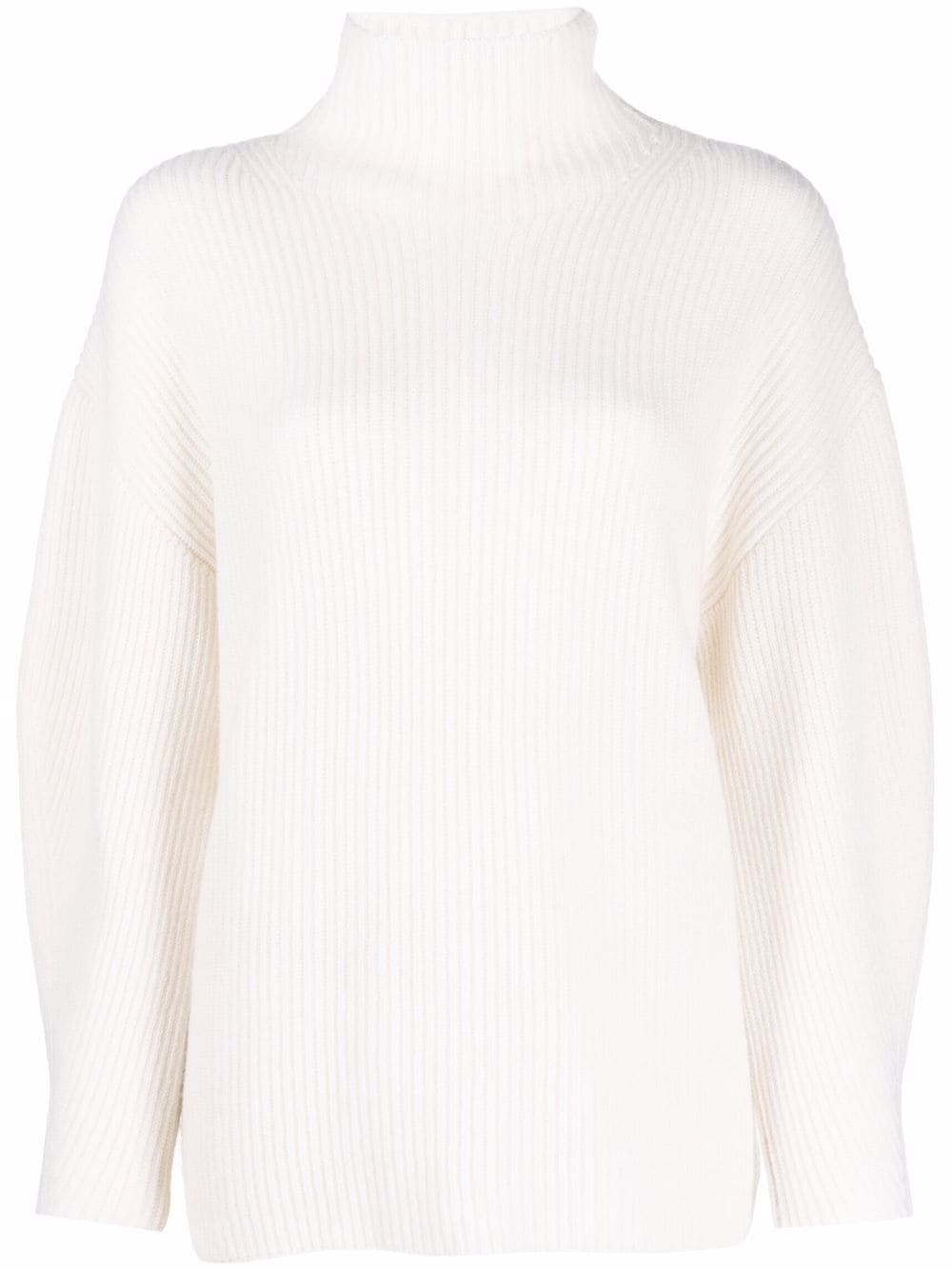 Fedeli roll-neck cashmere jumper - Weiß