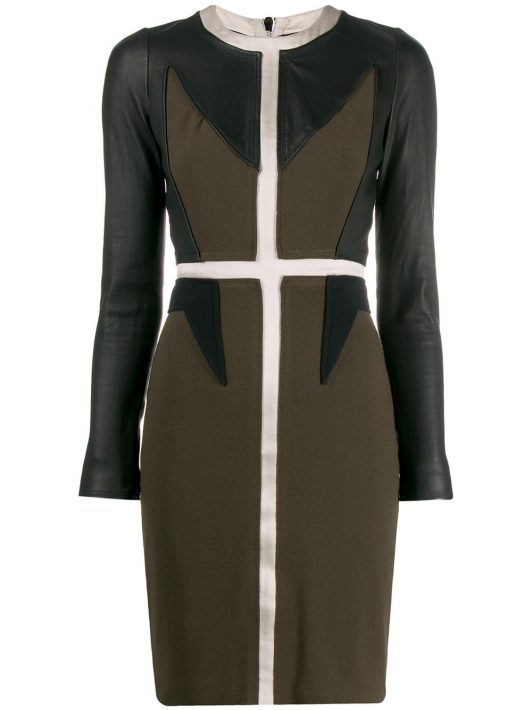 Givenchy Pre-Owned 2000 Kleid mit Einsätzen - Schwarz