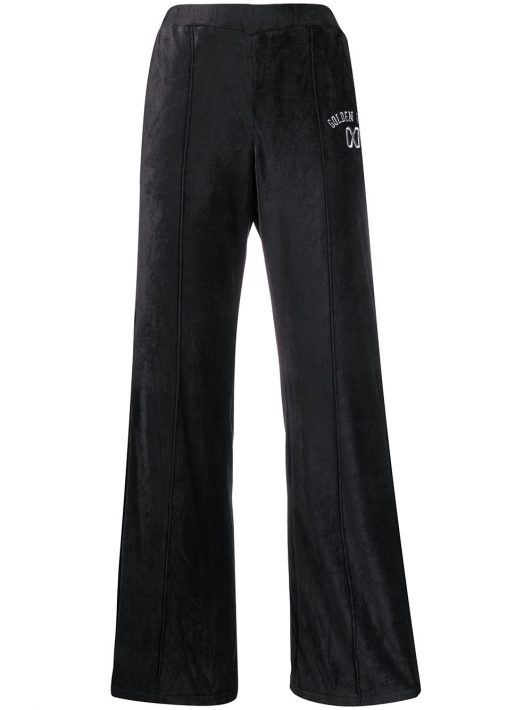 Golden Goose 'Kelly' Hose mit weitem Bein - Blau