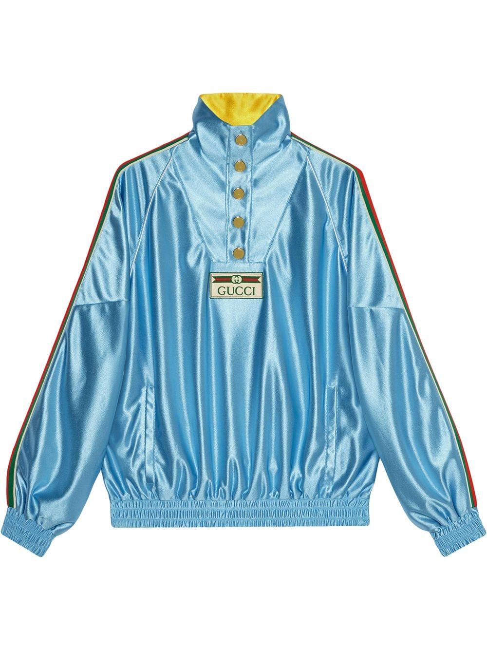 Gucci Jersey-Sweatshirt - Blau