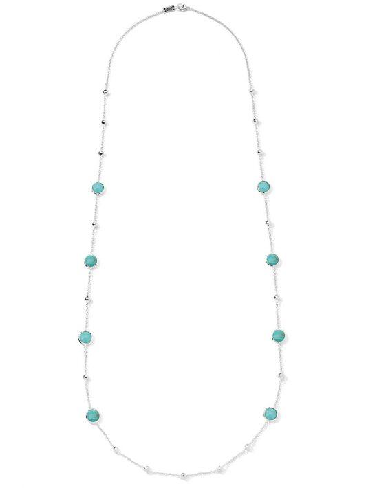 IPPOLITA 'Lollipop' Halskette mit Türkis - SILVER