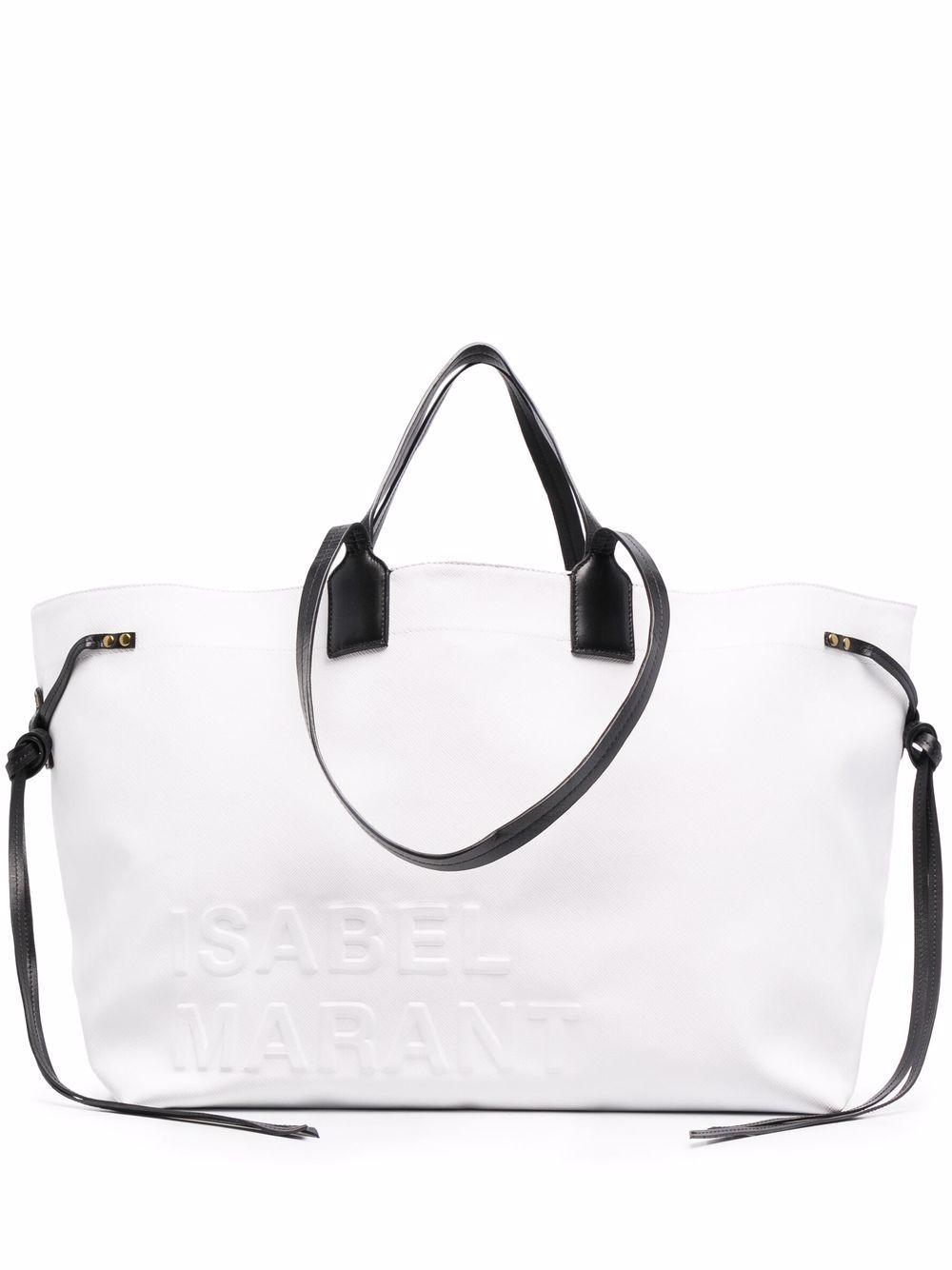 Isabel Marant Wydra Handtasche - Weiß