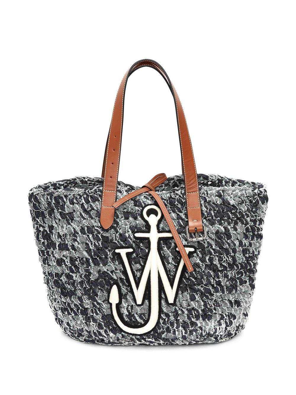 JW Anderson Handtasche mit Logo - Blau