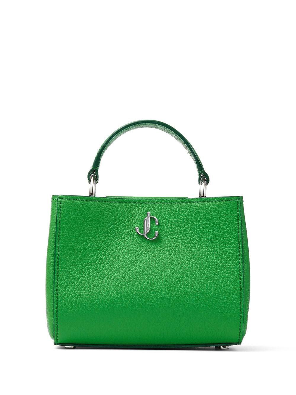 Jimmy Choo Mini Handtasche mit Henkel - Grün