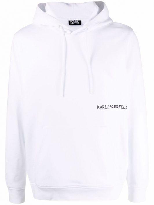 Karl Lagerfeld pullover jersey hoodie - Weiß