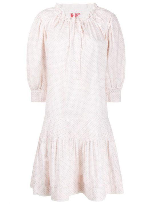 Kenzo Pre-Owned 1970s Kleid - Weiß