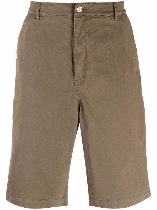 Kenzo knee-length chino shorts - Braun