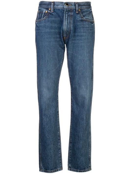 Khaite Jeans mit geradem Bein - Blau