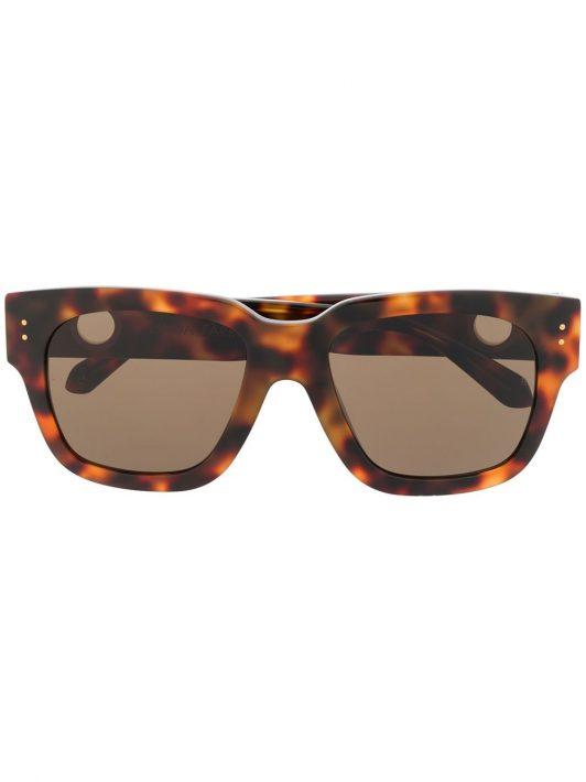Linda Farrow 'Amber' Sonnenbrille - Braun