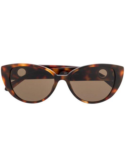 Linda Farrow 'Saranden' Cat-Eye-Sonnenbrille - Braun