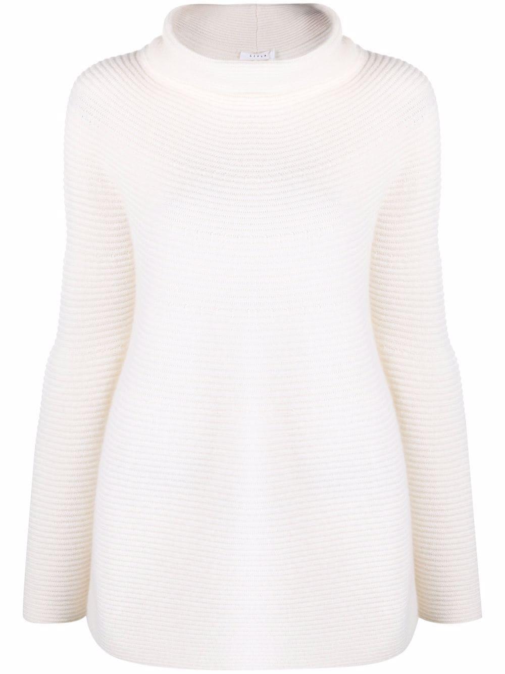 Liska pullover roll neck jumper - Weiß