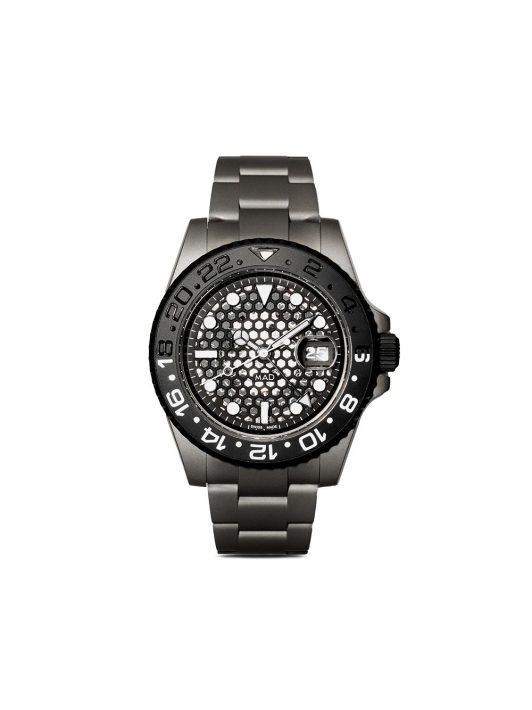 MAD Paris Personalisierte pre-owned Rolex GMT-Master II 42mm - Schwarz