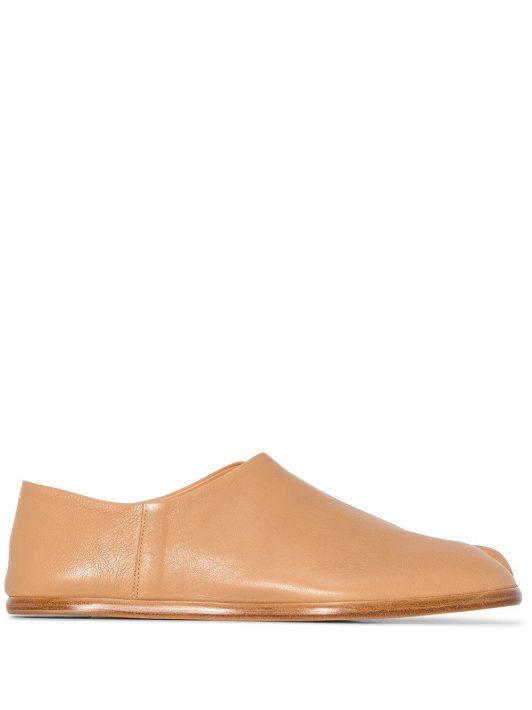 Maison Margiela Tabi slip-on shoes - Braun