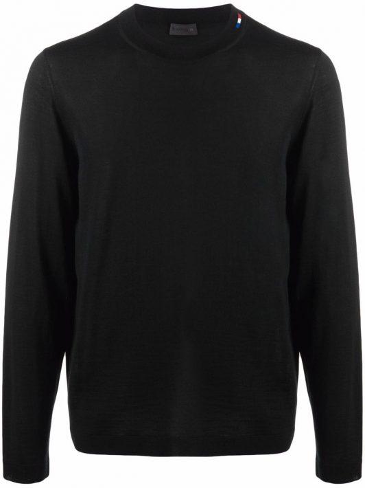 Moncler Gestrickter Pullover - Schwarz