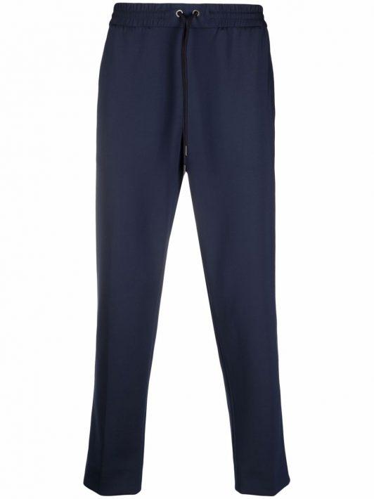 Moncler drawstring track pants - Blau