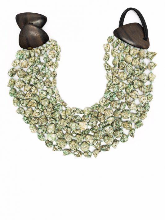 Monies Halskette mit Muscheln - Nude