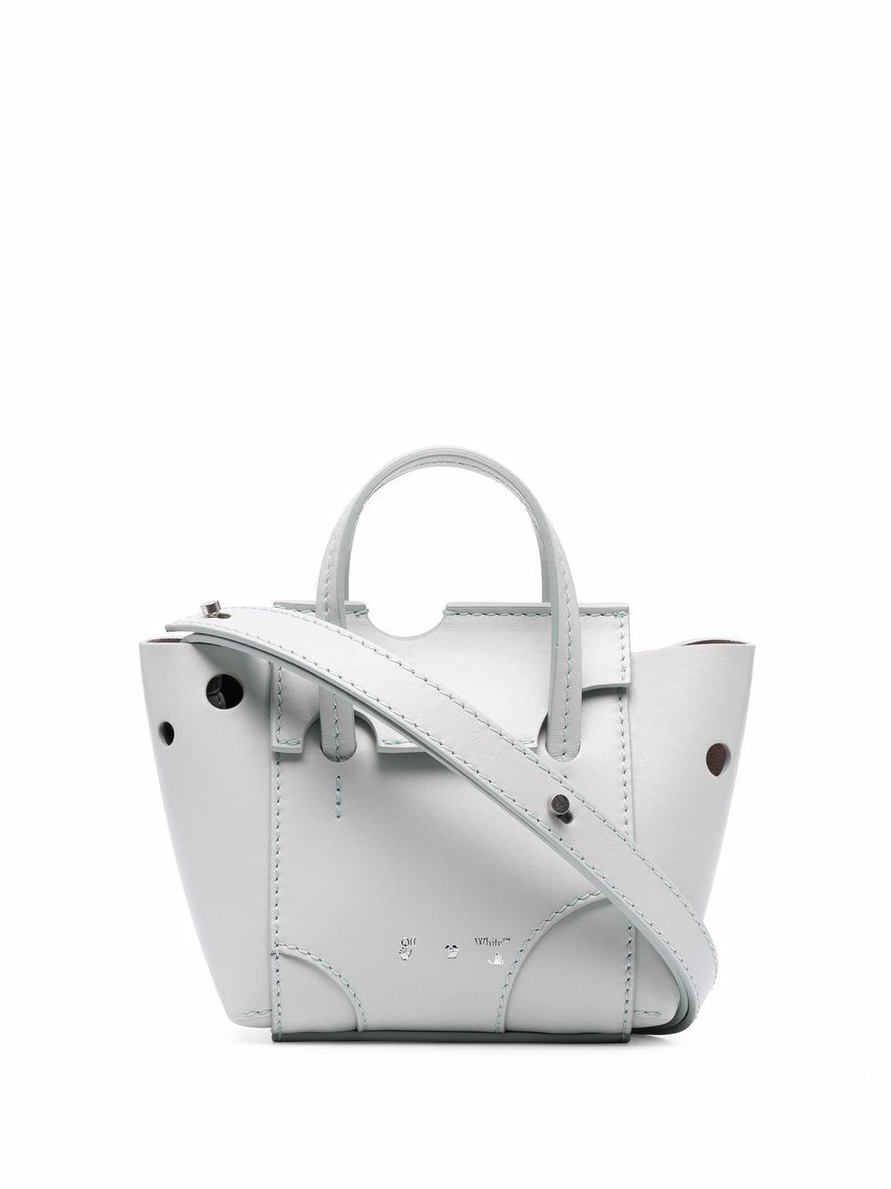 Off-White Burrow-16 Handtasche - Grün