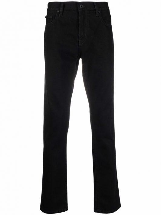 Off-White Klassische Skinny-Jeans - Schwarz