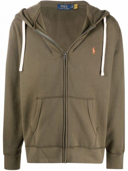 Polo Ralph Lauren Polo Poney zip-up hoodie - Grün